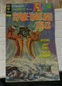 Dr Spector Presents- SPINE TINGLING TALES # 4  1976 GOLD KEY WESTERN PUBLISHING