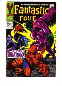 Fantastic Four #76 (Jul-68) VF- High-Grade Fantastic Four, Mr. Fantastic (Ree...