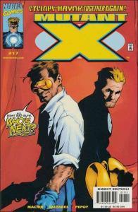 Marvel MUTANT X #17 VF+