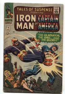 TALES OF SUSPENSE #76 comic book Marvel Silver-Age-IRON MAN- G/VG