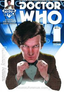 Doctor Who: The Eleventh Doctor #1B VF/NM; Titan | save on shipping - details in