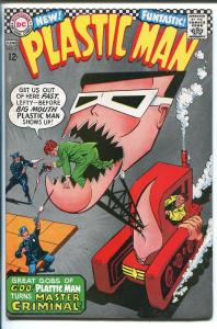 PLASTIC MAN #4 1967-DC COMICS-BULLDOZER COVER-vf