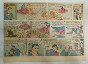Superman Sunday Page #1123 by Wayne Boring from 4/23/1961 Size ~11 x 15 inches
