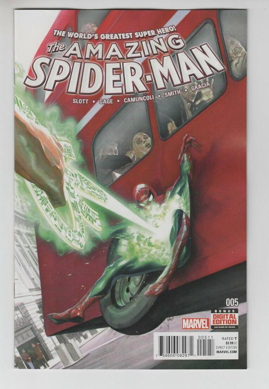 AMAZING SPIDER-MAN (2015 MARVEL) #5 NM- A47563