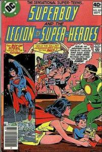 Superboy and the Legion of Super-Heroes #255 FN; DC   save on shipping - details