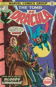 Tomb of Dracula #34 VF/NM; Marvel | save on shipping - details inside