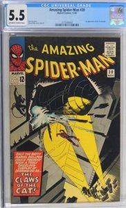 The Amazing Spider-Man #30 (1965) CGC Graded 5.5