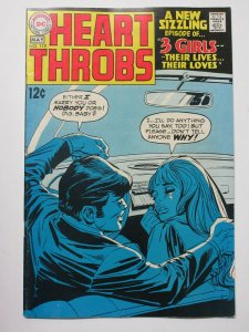 Heart Throbs (May 1969) #119 VF 3 Girls, Their Loves, Their Lives