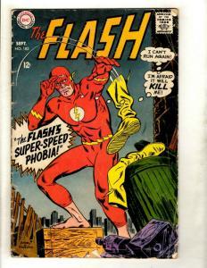 Flash # 182 VG DC Silver Age Comic Book Superman Batman Green Lantern Arrow GK1