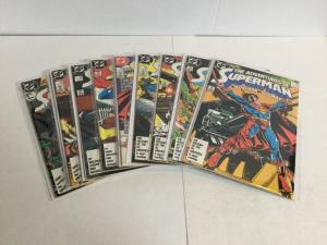 Adventures Of Superman 425-432 Annual 1 Vf-Nm Very Fine-Near Mint