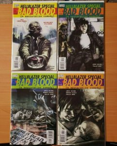 Hellblazer Bad Blood 1-4 Complete Set Run! ~ NEAR MINT NM ~ 2000 DC / Vertigo