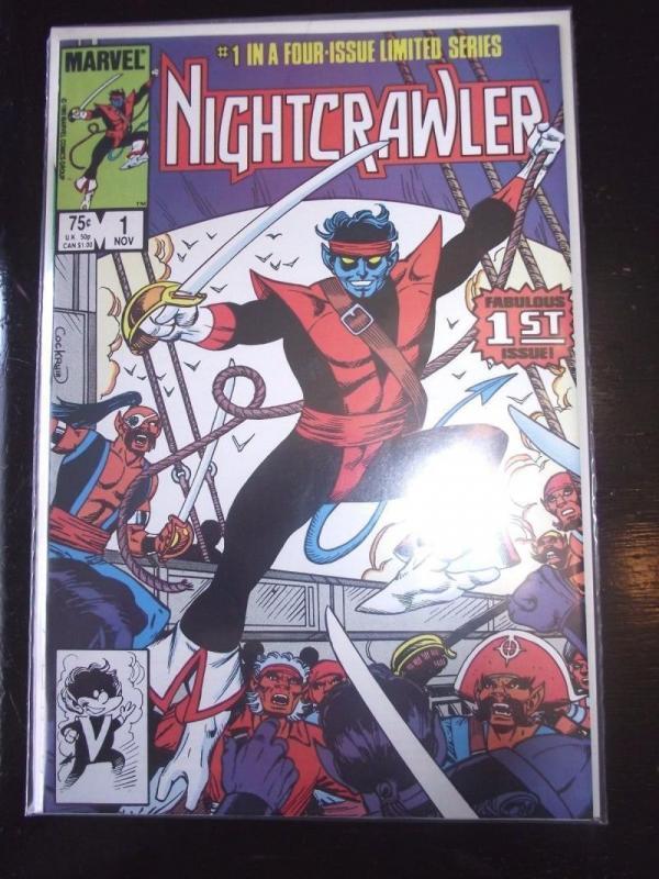 NIGHTCRAWLER #1, VF/NM, Cockrum, Marvel, X-men, 1986, more Marvel in store
