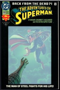 Adventures of Superman #500D (DC, 1993)