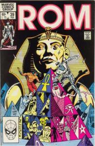 Rom (1979 series) #39, VF+ (Stock photo)