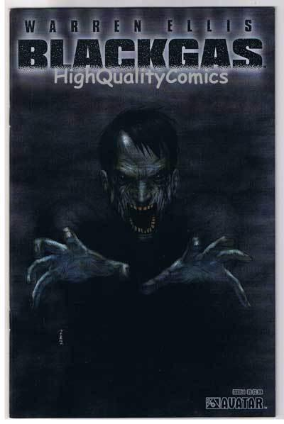 BLACK GAS #1, NM, Warren Ellis, Zombies, Undead, 2006, more BG in store
