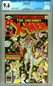 X-Men 130 CGC Graded 9.6 OW/W pages, 1st Dazzler
