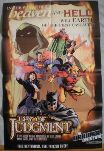 DAY of JUDGEMENT Promo poster, Batman, 22x34, Unused, more Promos in store