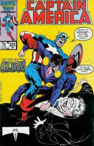 Captain America (1st Series) #325 FN; Marvel | save on shipping - details inside