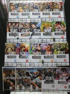 Secret Warriors (v2 2009) Lot of 26 Issues Spy Commandos Led by Fury