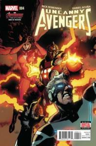 Uncanny Avengers (March 2015 series) #4, NM + (Stock photo)