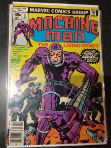 Machine Man #1 vf kirby story & art