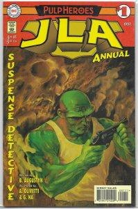 JLA (vol. 1, 1997) Annual   #1 FN (Pulp Heroes) Olivetti/Ha, Martian Manhunter