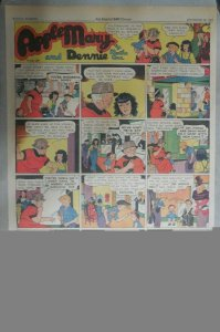 Apple Mary Sunday Page by Martha Orr from 9/26/1937 Size: Full Page 15 x 22 inch