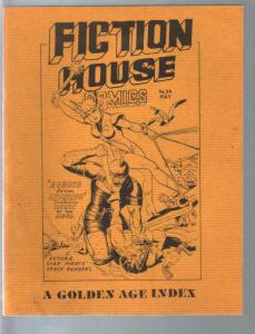Fiction House Comics Golden Age Index 1978-Ray Funk bio-Planet-Jumbo-FN