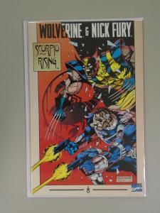 Wolverine and Nick Fury Scorpio Rising #1 - 6.0 - 1994