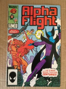Alpha Flight #21 (1985)