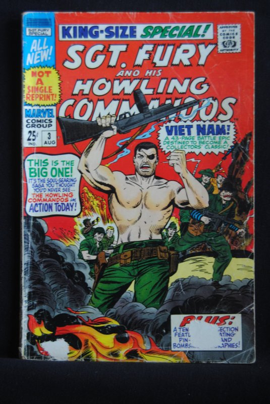 Sgt. Fury and his Howling Commandos, King Size Special #3