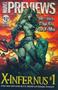 Marvel Previews #62 VF/NM; Marvel | save on shipping - details inside