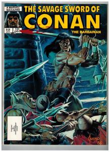The Savage Sword Of Conan The Barbarian # 131 NM Marvel Magazine Sonja Kull S76