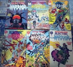 Electric Warrior #1-10 DC Comics Doug Moench Jim Baikie Future Mutant Machines