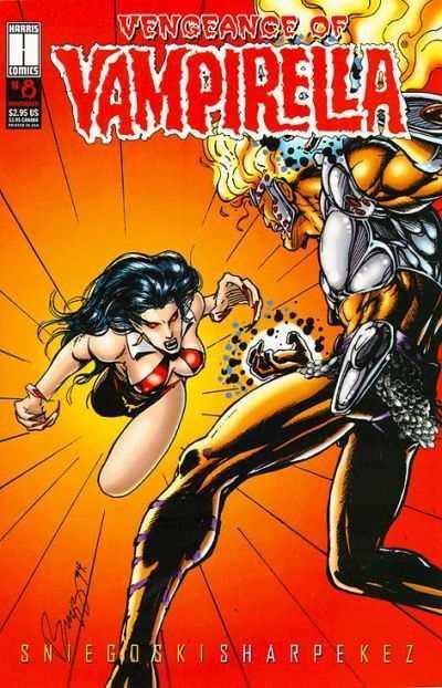Vengeance of Vampirella #8, NM (Stock photo)