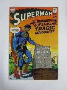 SUPERMAN (1939-1986) 215 VG April 1969