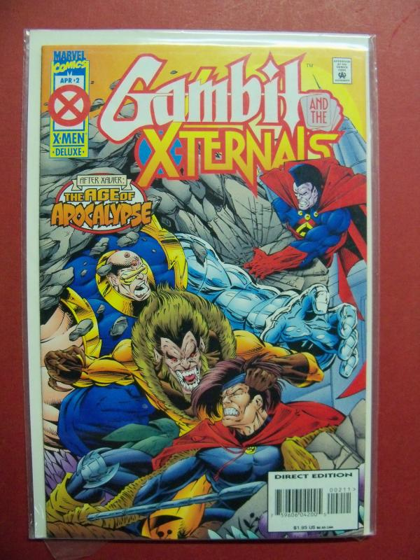 GAMBIT AND THE X-TERNALS  #2 (9.0 to 9.2 or better)  MARVEL COMICS