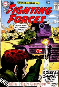 OUR FIGHTING FORCES (1954 Series) #57 Very Good Comics Book