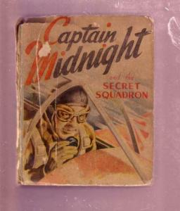 CAPTAIN MIDNIGHT 1941-SECRET SQUADRON #1488-BLB-RAR G