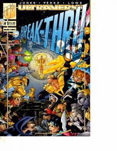 Lot Of 2 Comic Books Ultraverse Break-Thru #1 2  MS20
