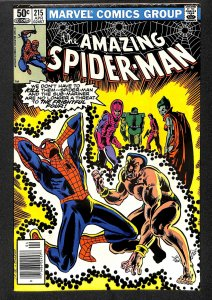 The Amazing Spider-Man #215 (1981)