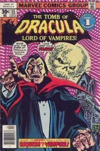 Tomb of Dracula (1972 series) #55, VF- (Stock photo)
