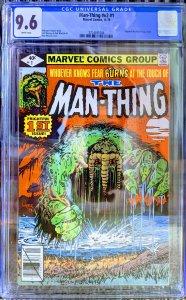 Man-Thing #1 (1979) CGC 9.6