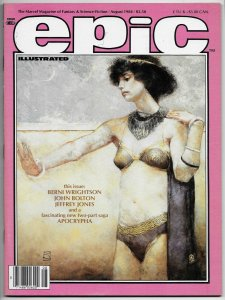 Epic Illustrated #25 Bernie Wrightson (Marvel, 1984) NM