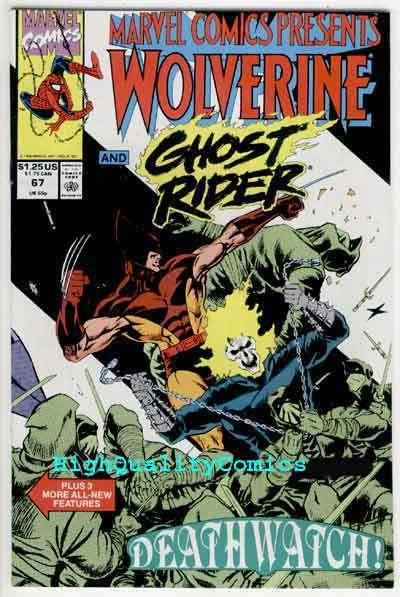 MARVEL COMICS PRESENTS #67, NM+, Wolverine, Ghost Rider, more MCP in store