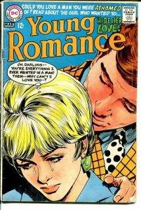 YOUNG ROMANCE #152 1968-DC ROMANCE VG