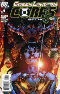 Green Lantern Corps: Recharge #4 VF/NM; DC | save on shipping - details inside