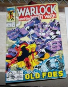 Warlock and the Infinity Watch #5 (Jun 1992, Marvel) adam warlock infinity gems