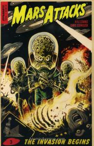 Mars Attacks (Dynamite) #3A VF/NM; Dynamite   save on shipping - details inside