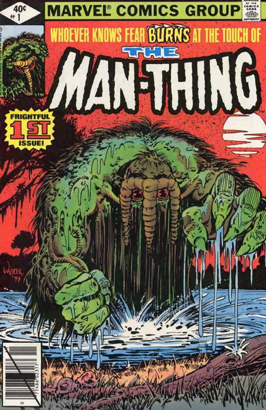 Man-Thing (2nd Series) #1 FN; Marvel | save on shipping - details inside